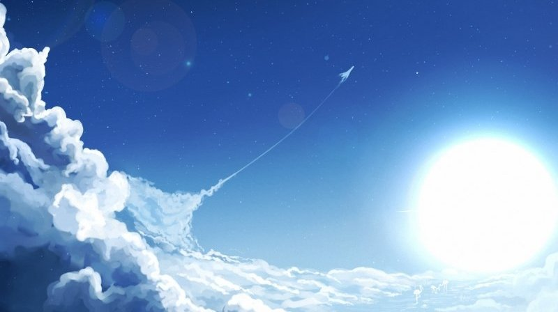 art_sky_sun_clouds_airplane_aircraft_stars_moon_800x600.jpg
