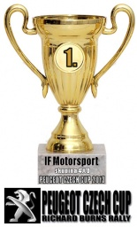 Peugeot Cup_1. místo 4 WD_tým